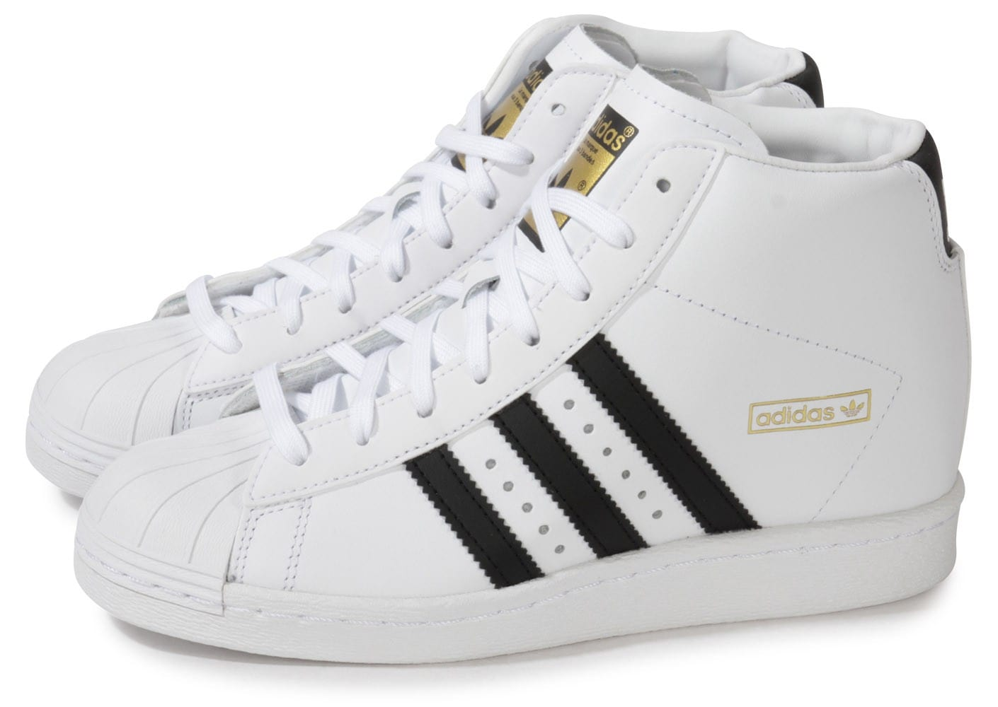 adidas superstar up compensee blanche