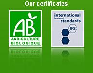 Nos certificats
